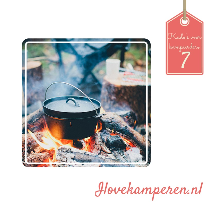 Dutch oven kado kamperen blog design