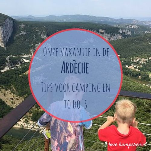 Visual Ardeche tips camping kinderen tips