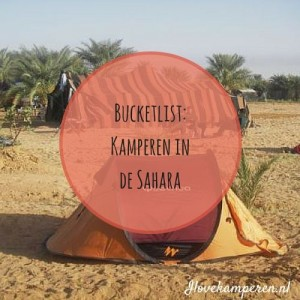 Kamperen in de Sahara: Touareg Trail