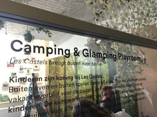 camping en glamping playroom