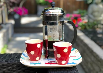 french press camping