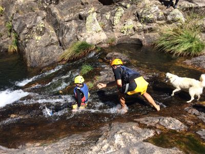 canyoning noord portugal