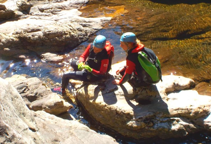 canyoning portugal