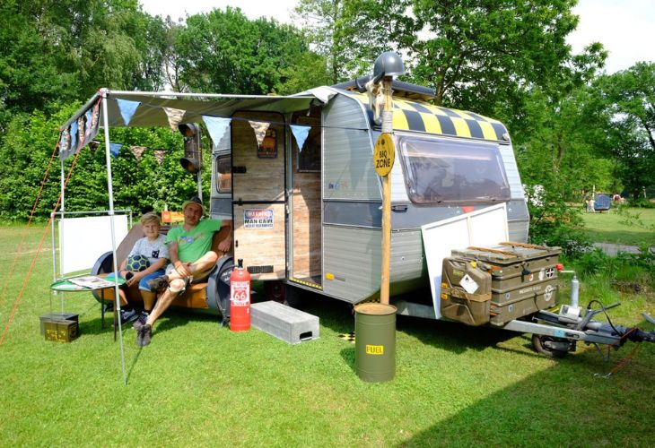 gepimpte caravans weekend
