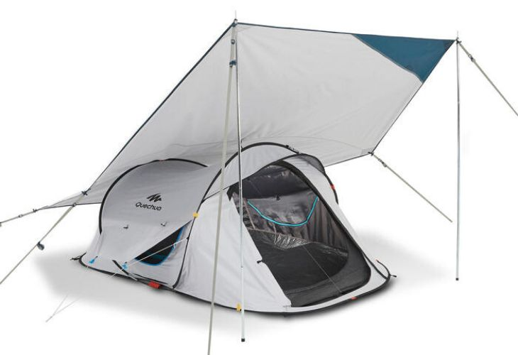 tarp schaduwdoek decathlon ervaring